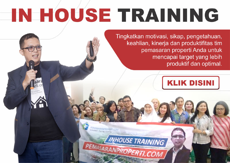 inhouse training marketing properti, pemsasaran properti