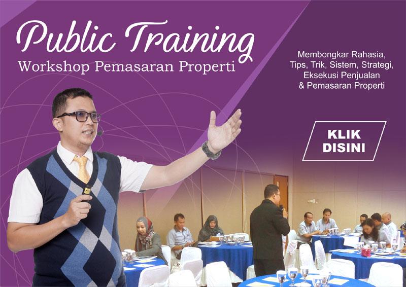 workshop pemasaran properti