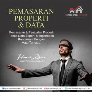 srtaegi marketing properti dan data