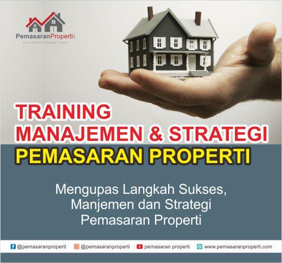 strategi marketing pemasaran properti