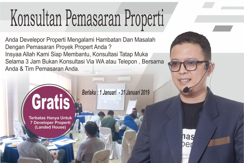 konsultan marketing pemasaran properti